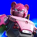 ピンクのメカクマちゃん