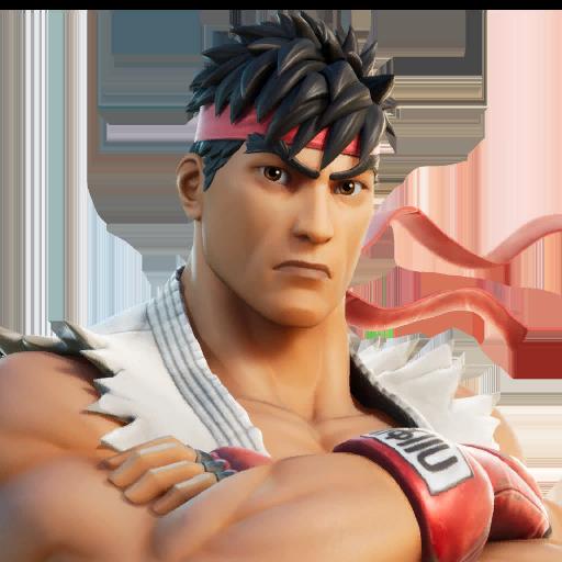 Ryu character style