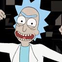 Rick Sanchez character style