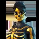 Gilded Skull Ranger character style