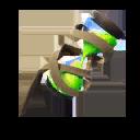 VERDE accesorio mochilero estilo