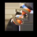 NARANJA accesorio mochilero estilo