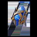 AZUL accesorio mochilero estilo