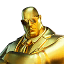 GOLDEN AGENT character style