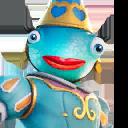 Princess Felicity Fish character style