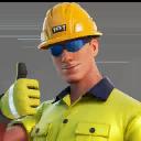 Lazarbeam (Helmet) character style