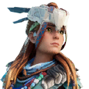 Ice Hunter Aloy character style