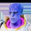Globular character style
