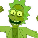 Toxic Rick character style
