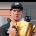World Champion Bugha character style