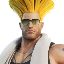 Glistening Guile character style