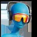 EARPHONES GRAY character style