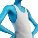 white tank character style
