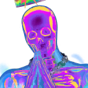 Skeleton Balvin character style