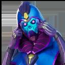 Sideways Warrior character style