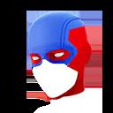 HALF MASK character style