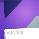 Ultraviolet backbling style